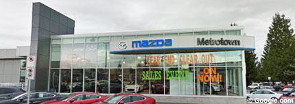 Metrotown Mazda Vancouver Car Dealers